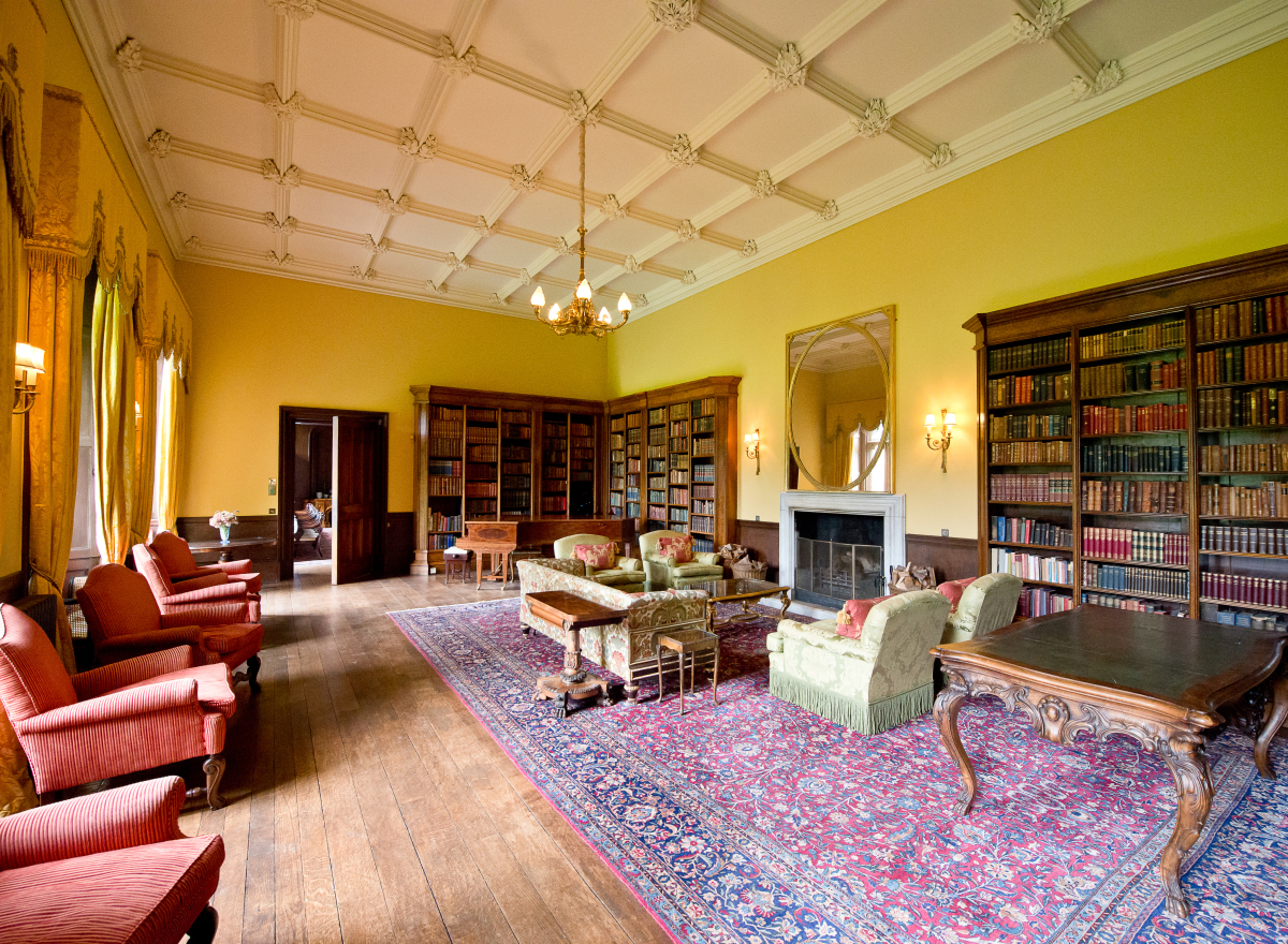 The Library at Hampton Court Castle