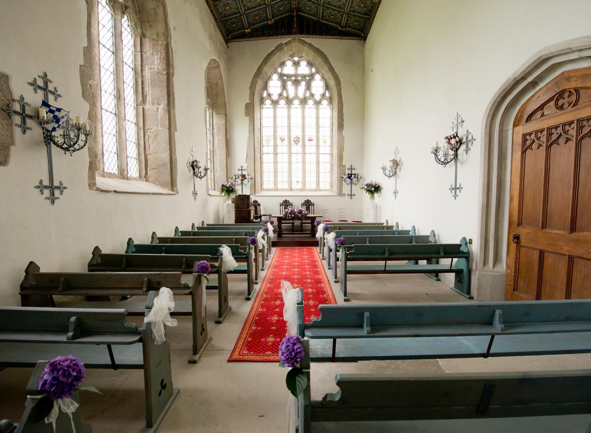 The Chapel at Hampton Court Castle.