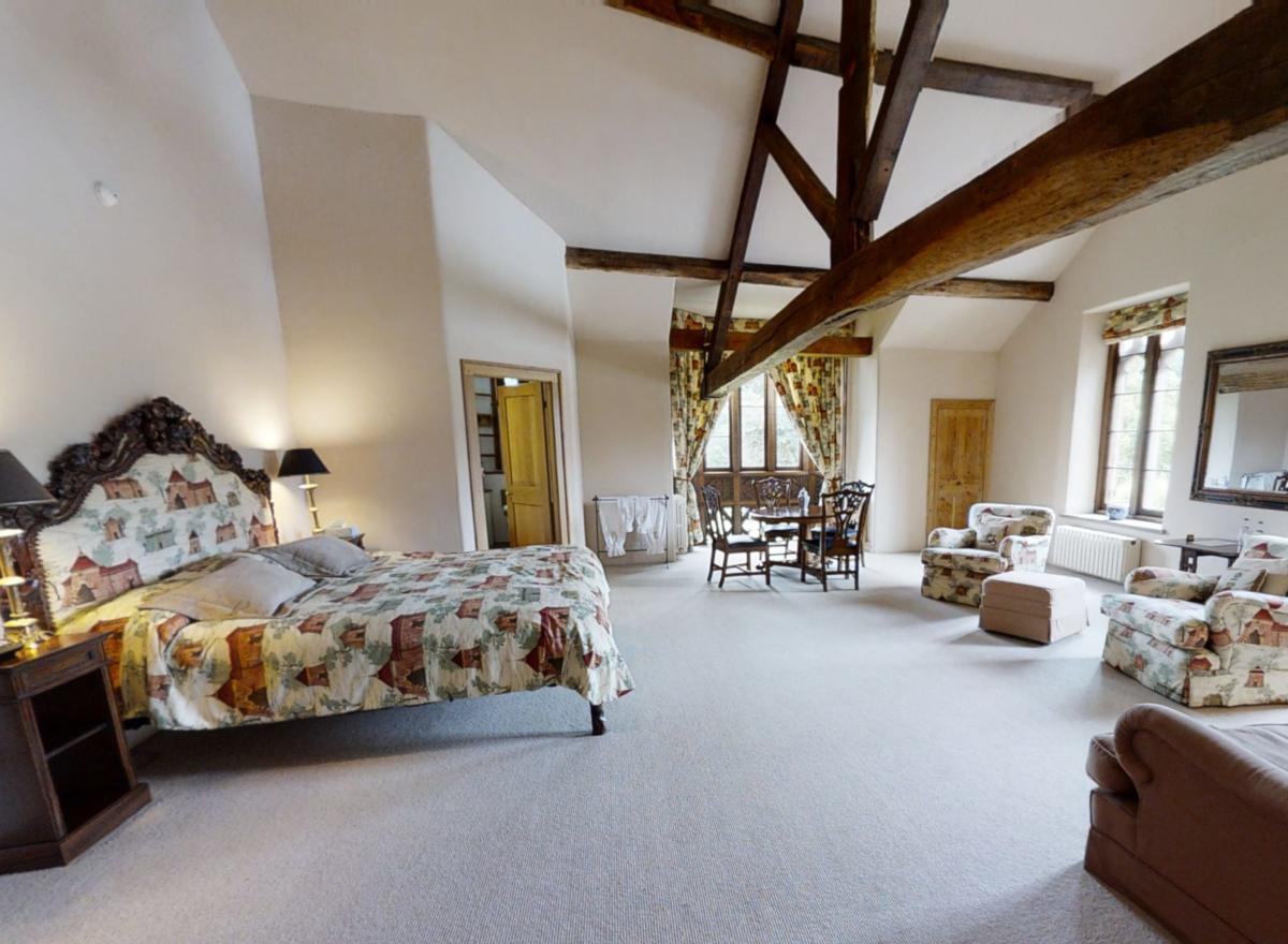 Hampton Court Castle Weddings Bedroom Cedar