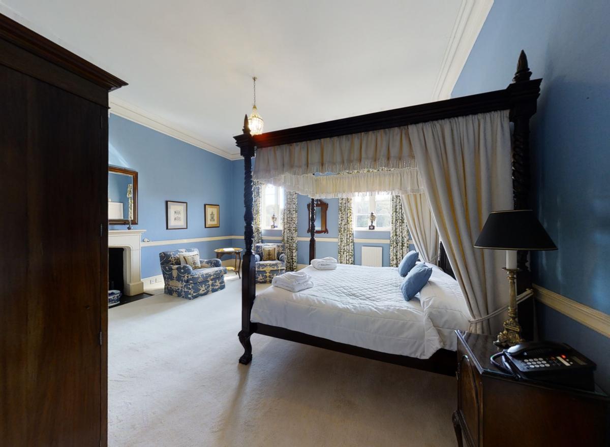 Hampton Court Castle Weddings Bedroom 3