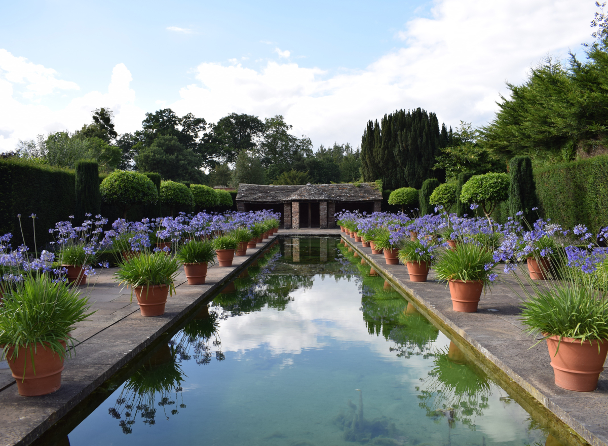 Dutch Garden at Hampton Court Castle